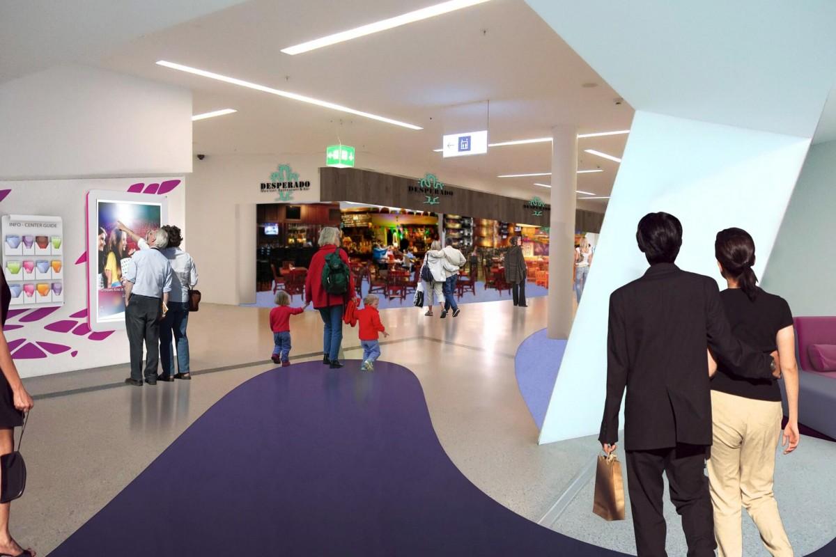 Westside shopping mall